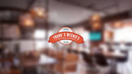 Frank&Weenies logo design
