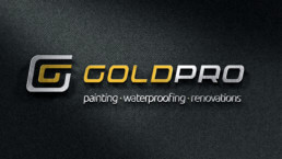 GoldPro Logo Design