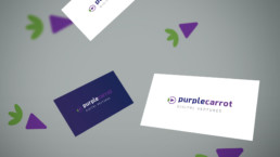 PurpleCarrot Logo design