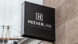HeeverLaw Logo Design